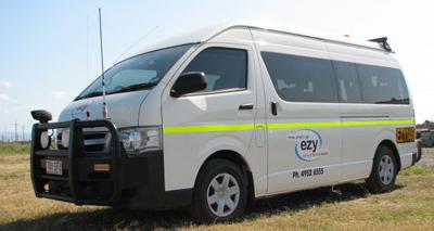 Van for hire in Mackay