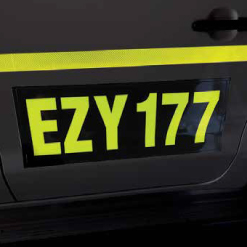 Ezy Signs El Flexible Illuminated Mining ID