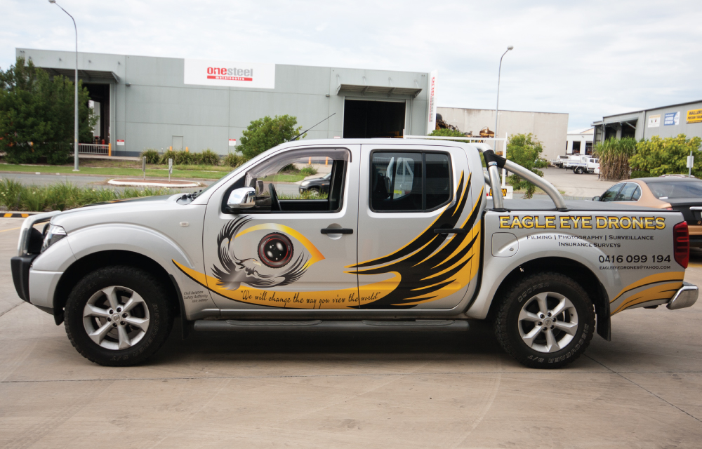 Vehicle Signage - Graphic Design Mackay