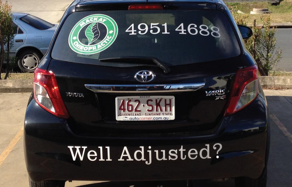 mackay-chiropractic-vehicle-signage-one-way-visionjpg