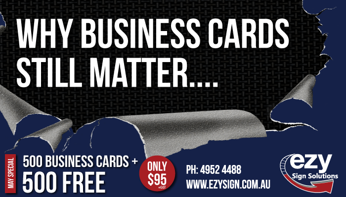 Why business cards still matter?